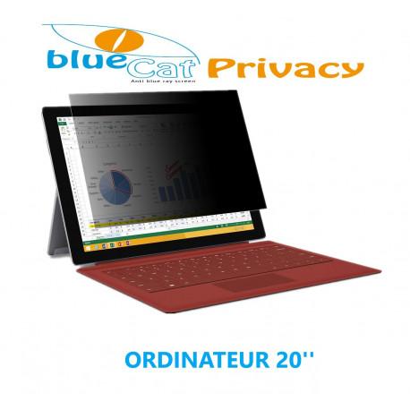 """Filtre de confidentialité anti  lumière bleue pour ordinateur 20"""""""