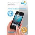 Verre trempé anti lumière bleue 30% pour iPhone 7+
