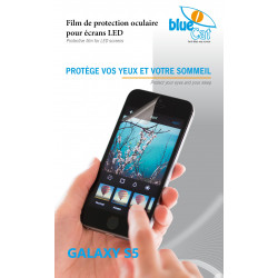 Filtre anti lumière bleue pour Galaxy S5